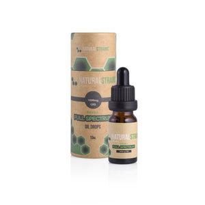 Organic CBD Oil Drops 10ml - 10% (1,000mg CBD) - Full Spectrum