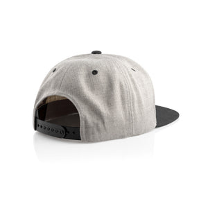 Authentic SnapBack Cap Grey