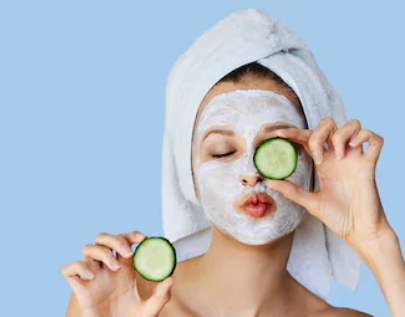 mask masques yeux eyes cucumber concombre