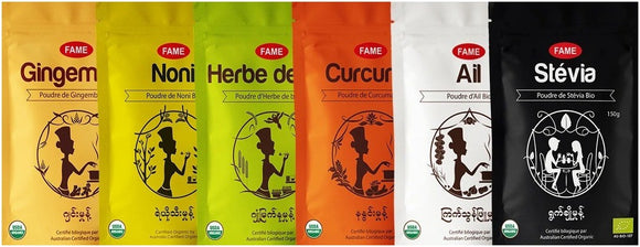 Banner powders poudres cuisine green lotus fame