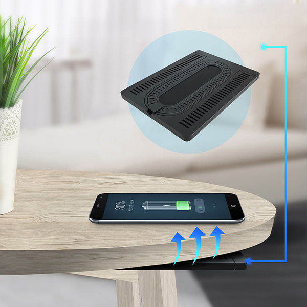 Stealth Charger Under Table Wireless Fast Charger For All Devices