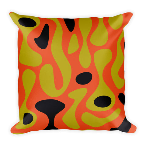 Lava - Square Cushion