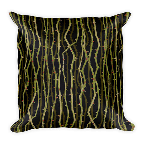 Thorns - Square Cushion
