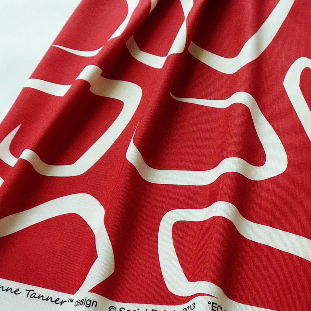 Eclipse Rosso Fabric