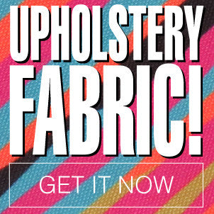 Upholstery fabric!