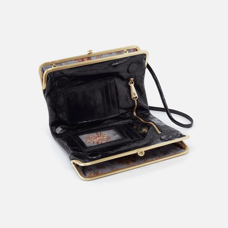 HOBO Leanne Crossbody Cluth- Black