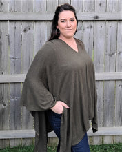 Load image into Gallery viewer, Pullover Tunic Poncho