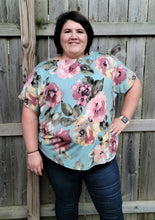 Load image into Gallery viewer, Floral One Shoulder Top