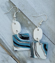 Load image into Gallery viewer, Tranquility Block Earrings