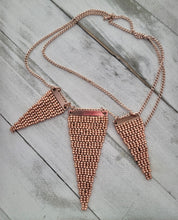 Load image into Gallery viewer, Warm Gold Woven Necklace