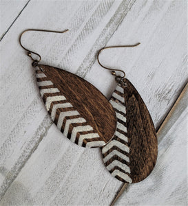 Chevron Tear Drop