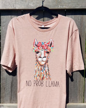 Load image into Gallery viewer, No Prob Llama Tee