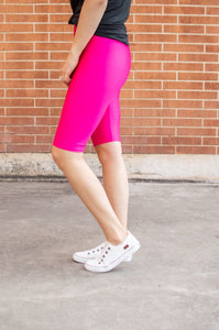 Bermuda Leggings | Hot Fuchsia