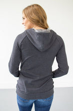 Load image into Gallery viewer, Sleek Grey on Grey Hoodie