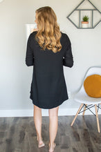 Load image into Gallery viewer, Lounge Dress | Black