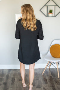 Lounge Dress | Black