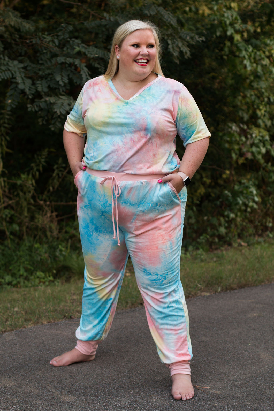 Seaside Tie Dye Lounge Set