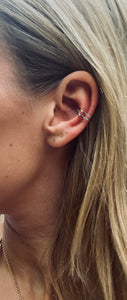 EAR CUFF 'LOVIE' ZILVER