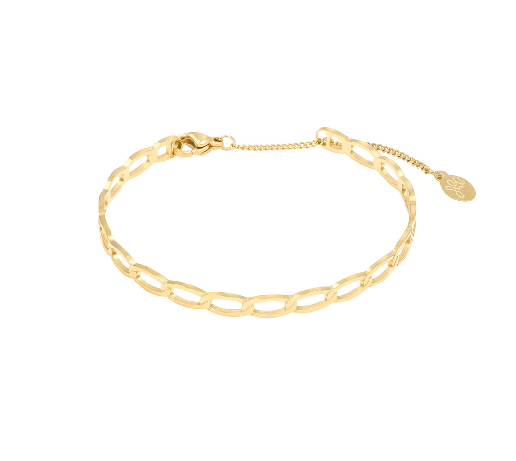 ARMBAND 'CHAINS' GOUD