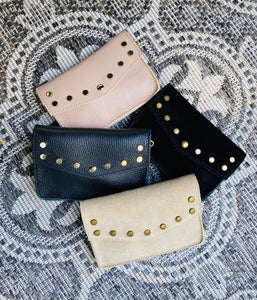 MINI LEATHER BAG - BELT BAG ZWART