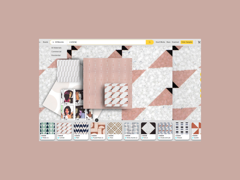How to Make a Digital Mood Board on Material Bank