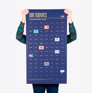 100 Movies You Must See Poster