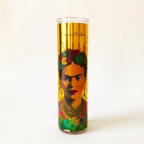 Frida Kahlo Scented Candle