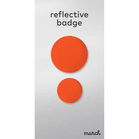 Reflective Badge - Double