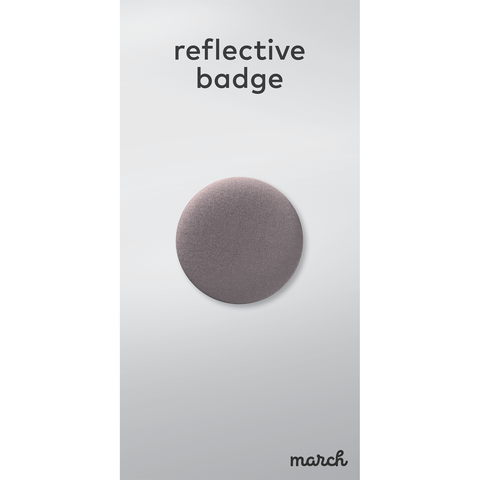 Reflective Badge - Single