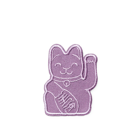 Maneki Neko Patch - Violet
