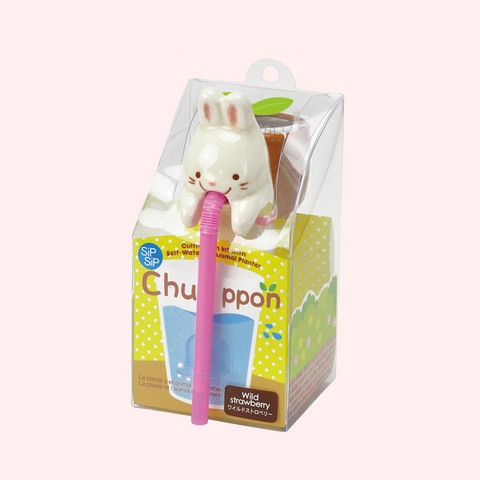 Chuppon Bunny Wild Strawberry