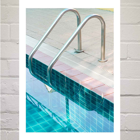 Swimming Pool Print