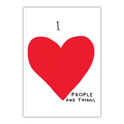 I Love People And Things Notebook