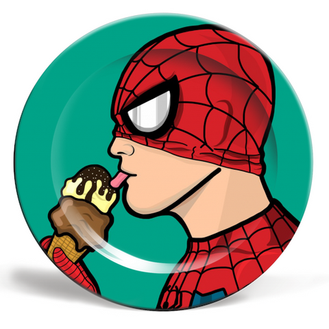 Spiderman Plate