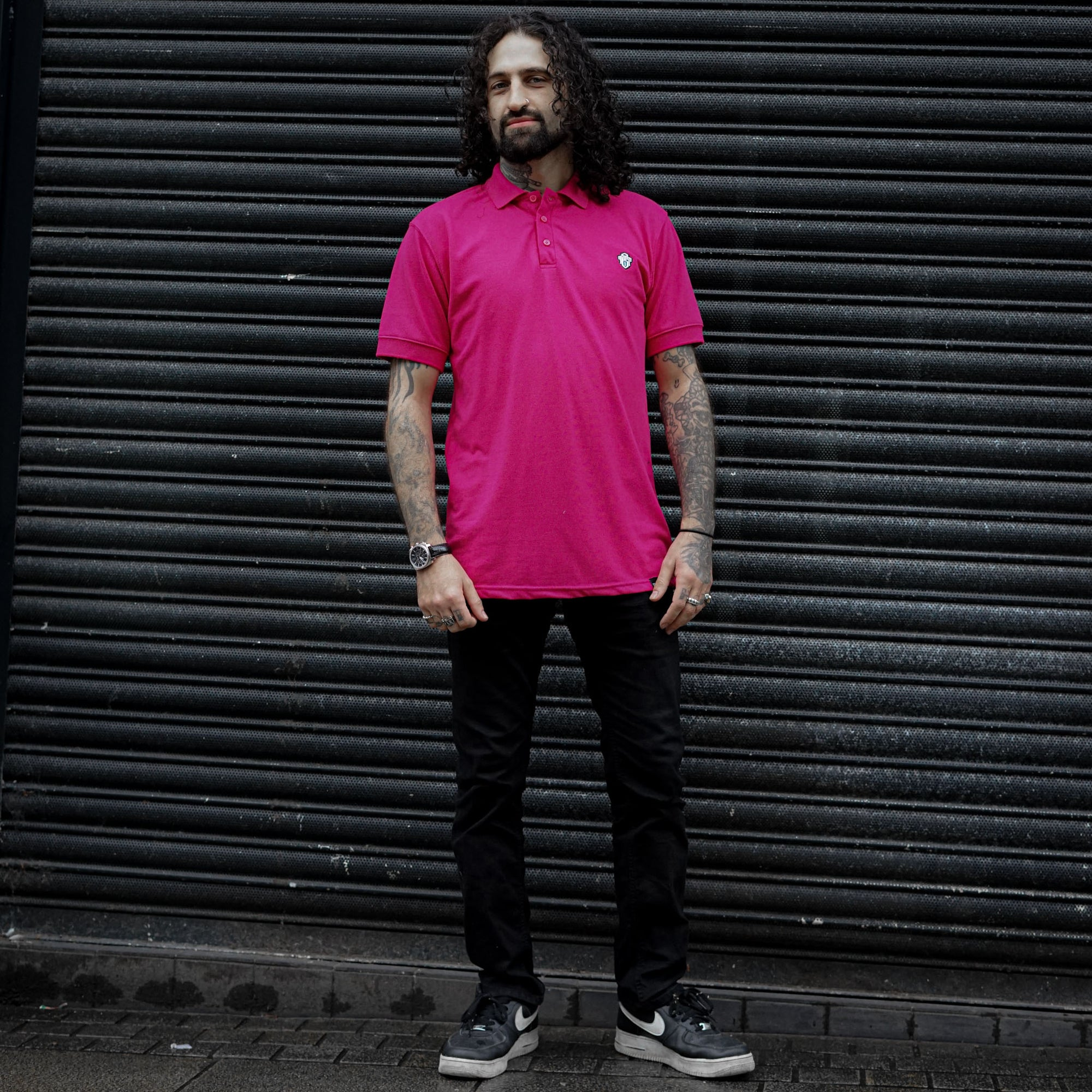 Colophon Pink Polo