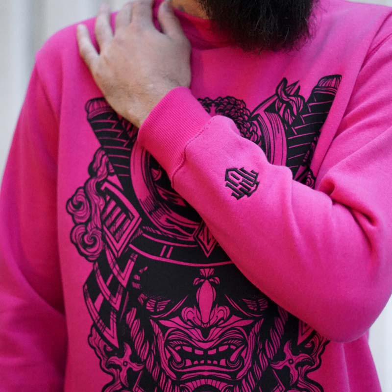 Men-yoroi Pink Sweater