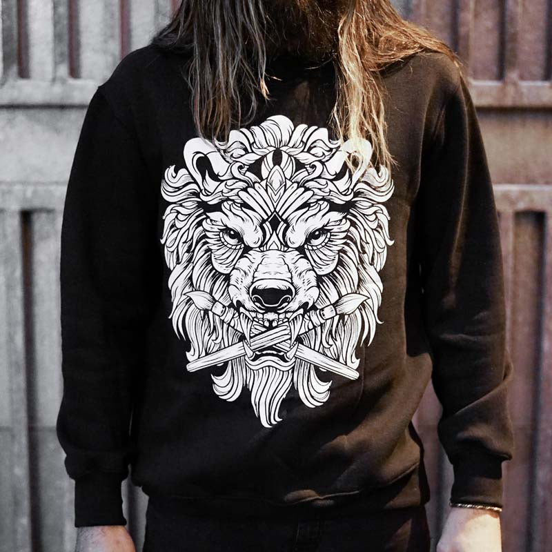 Panthera Black Sweater