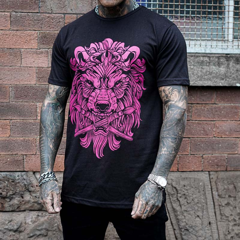 Panthera Black Tee