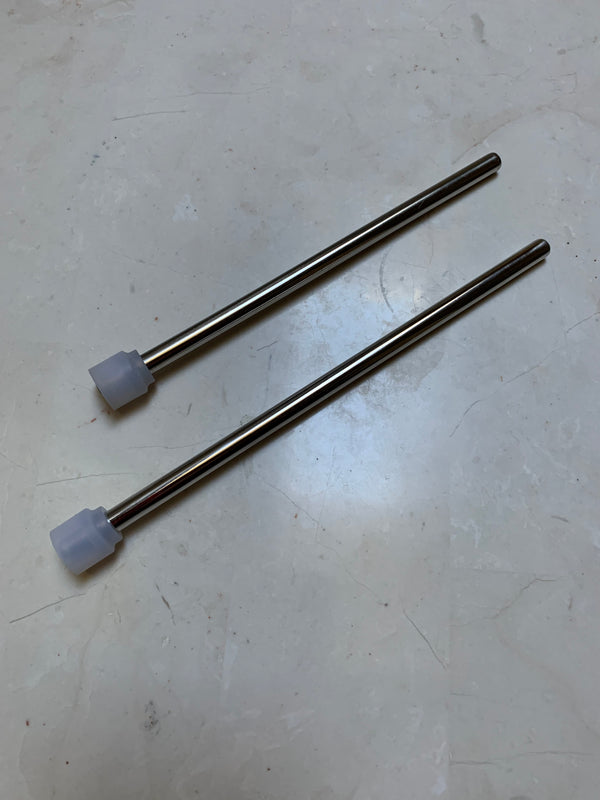 stainless steel straw assembly
