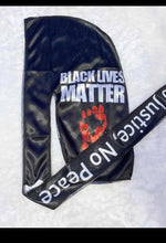 Load image into Gallery viewer, BLACK LIVES MATTER DURAGS