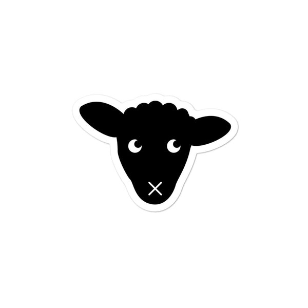 Lamb Head Stickers