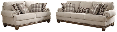 Harleson Signature Design Sofa 2-Piece Upholstery Package