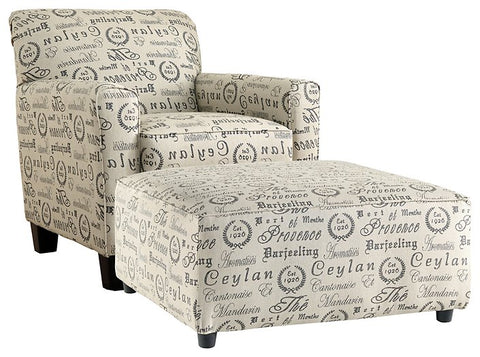 Alenya Signature Design 2-Piece Chair & Ottoman Set image