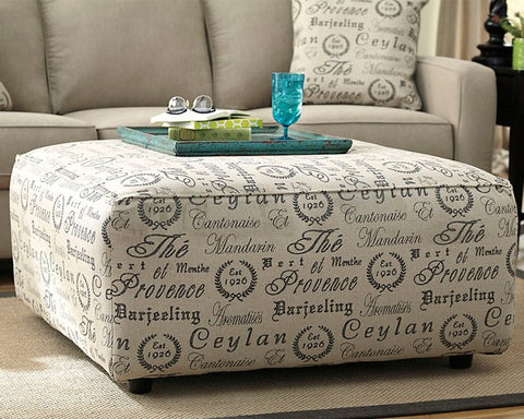Alenya Signature Design by Ashley Oversized Accent Ottoman image