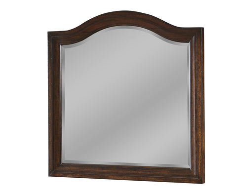 American Woodcrafters Stonebrook Landscape Mirror in Tobacco 7800-040