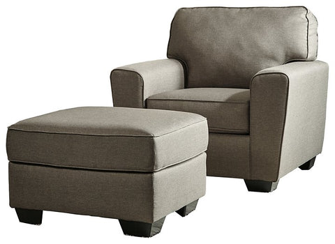 Calicho Benchcraft 2-Piece Chair & Ottoman Set image