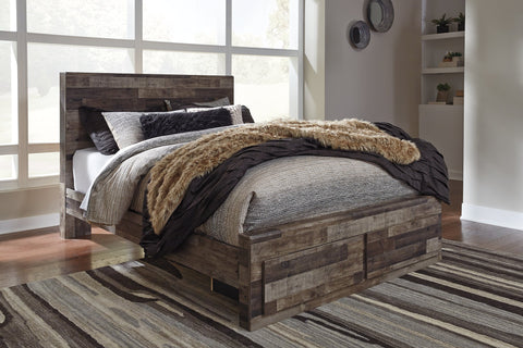 Derekson Benchcraft Bed with 2 Storage Drawers image