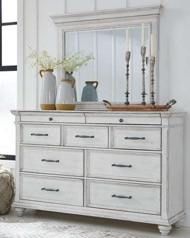 Kanwyn Benchcraft Dresser and Mirror
