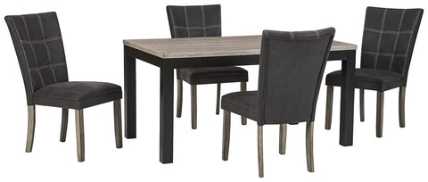 Dontally Benchcraft 5-Piece Dining Room Set