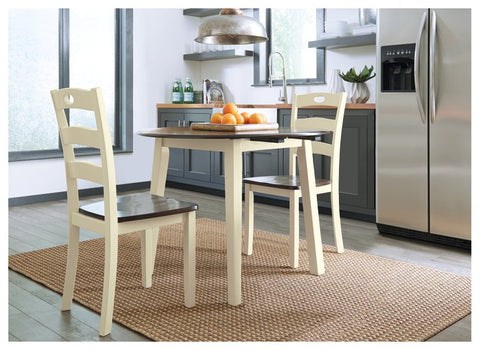 Woodanville Signature Design Dining Table 3-Piece Dining Room Package